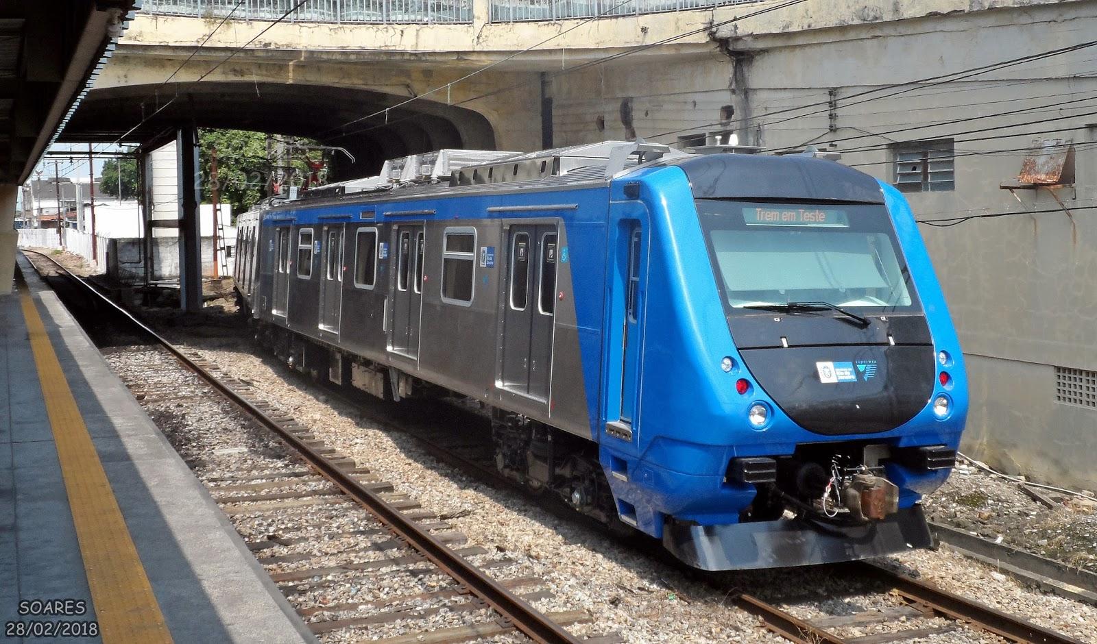 Resultado de imagem para trem novo supervia