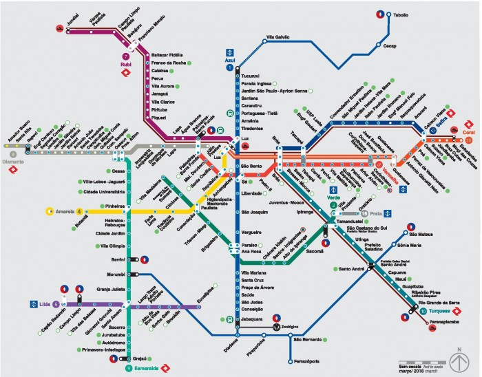 mapa metro sao paulo São Paulo enfrentará Washington em 'Copa do Mundo' de mapas de  mapa metro sao paulo